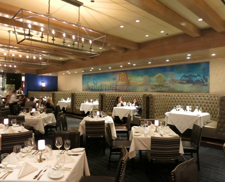 Ruth's Chris Steak House has opened a location in Marina del Rey