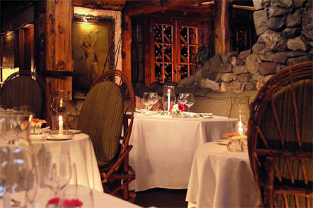 Saddle Peak Lodge, one of GAYOT's Best Romantic Restaurants in America