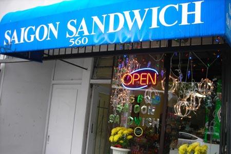 Saigon Sandwich