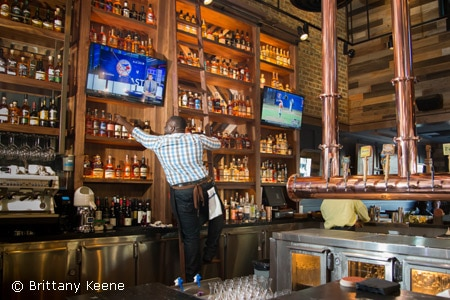 Topnotch libations and a comfortable outdoor patio accompany New American cuisine at Long Beach's Saint & Second