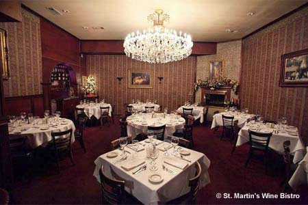 Celebrate Valentine's Day in Dallas at St. Martin's Wine Bistro