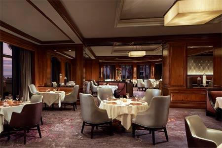 Enjoy haute cuisine with an ocean view at Salt restaurant at The Ritz-Carlton, Amelia Island