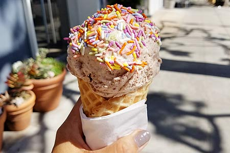 Cool off with a sweet treat at Salt & Straw, one of GAYOT's Top 10 Ice Cream Shops in Los Angeles