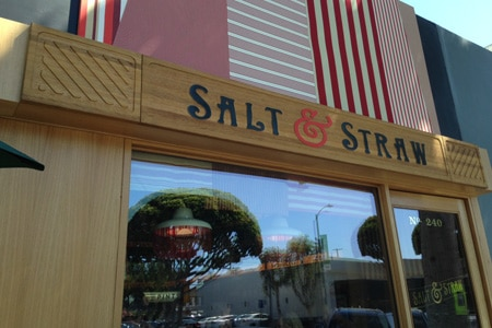Dining Room at Salt & Straw, Los Angeles, CA
