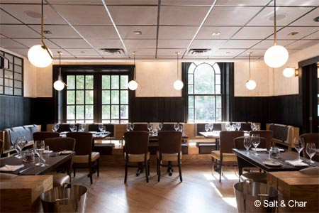 Salt & Char is one of Albany's new restaurants. Find more on GAYOT's roundup.