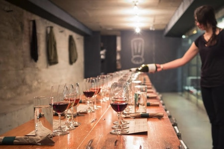 Salt Tasting Room in Vancouver keeps it simple with dozens of wines, charcuterie, and cheeses to mix and match