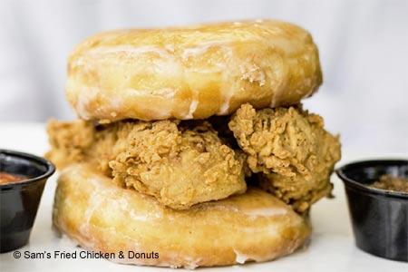Sam's Fried Chicken & Donuts, Houston, TX