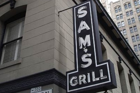 Sam's Grill, San Francisco, CA