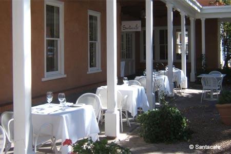 Santacafe is one of GAYOT's Best Romantic Restaurants in Santa Fe