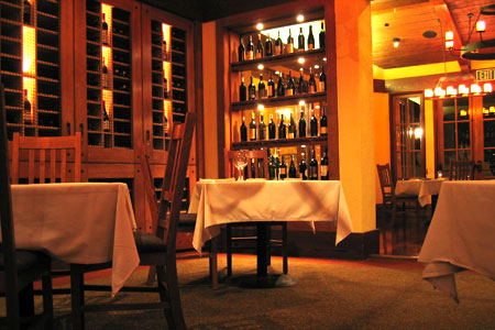 Dining Room at Sante Restaurant, Sonoma, CA