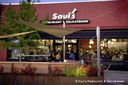Saul's Restaurant & Delicatessen, Berkeley, CA