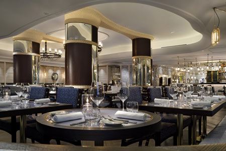 Dining room at Scarpetta, Miami Beach, FL