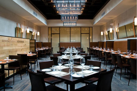 Dining room at Scarpetta, New York, NY