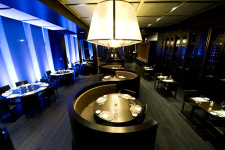 Dining room at Scarpetta, Toronto, canada