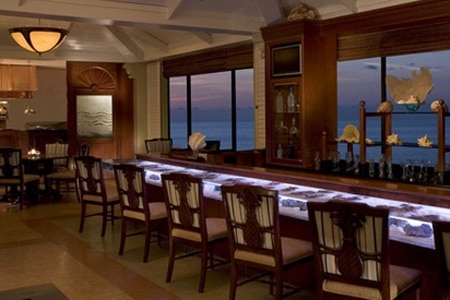 Dining room at The Seafood Bar, Palm Beach, FL