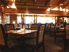 Dining room at Seasons 52, Santa Monica, CA