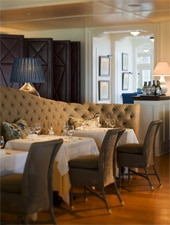 Dining room at Seasons at the Ocean House, Westerly, RI
