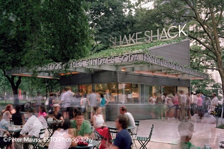 Dining Room at Shake Shack, New York, NY