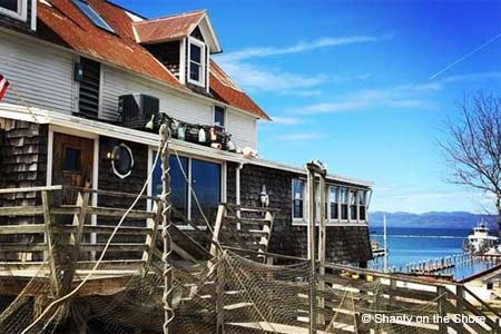 Shanty on the Shore is one of GAYOT's Best Seafood Restaurants in Vermont