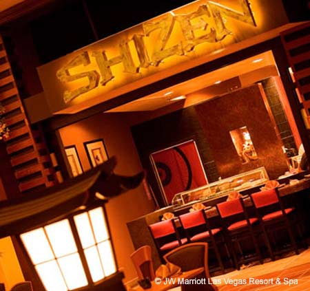 Dining Room at Shizen, Las Vegas, NV