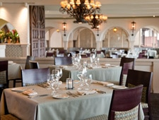 Dining Room at The Shores Restaurant, La Jolla, CA
