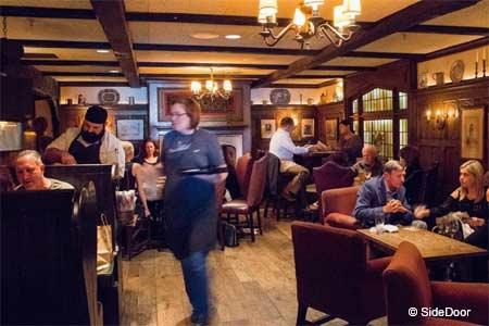 Dining Room at SideDoor, Corona Del Mar, CA