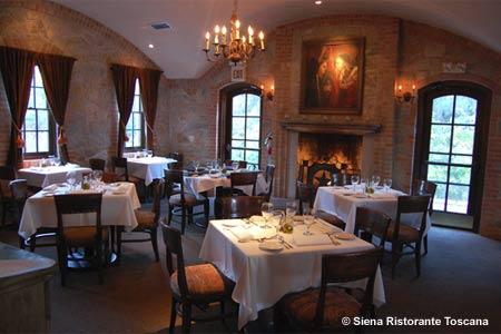 Enjoy a romantic dinner at Siena Ristorante Toscana in Austin