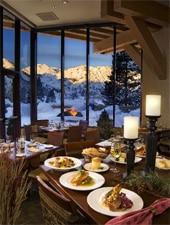 Dining room at Six Peaks Grille , Olympic Valley, CA