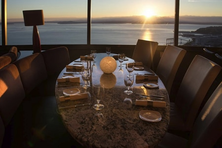 Dining Room at SkyCity at the Needle, Seattle, WA