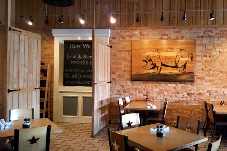Dining Room at Smokejack Southern Grill & BBQ, Alpharetta, GA