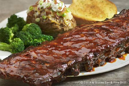 Smokey Bones Bar & Fire Grill in Casselberry serves some of the best BBQ in the Orlando area