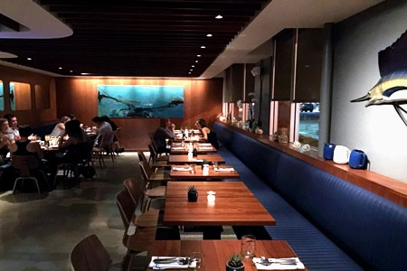 Dining Room at SMYC, Santa Monica, CA