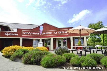 Snoqualmie Gourmet Ice Cream, Snohomish, WA