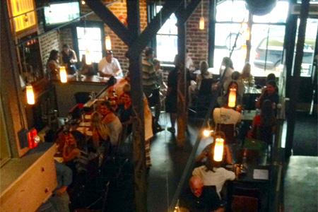 Dining Room at THIS RESTAURANT IS CLOSED Social Restaurant + Wine Bar, Charleston, SC