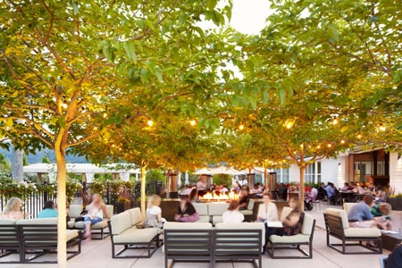 On Mother's Day, enjoy the quintessential al fresco California wine country experience at Solbar at Solage Calistoga