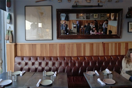 Dining Room at Son of a Gun, Los Angeles, CA