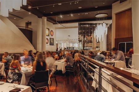 THIS RESTAURANT HAS CHANGED LOCATIONS Spago, Las Vegas, NV