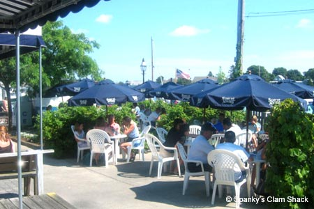 Spanky's Clam Shack is one of GAYOT's Best Outdoor Dining Restaurants in Cape Cod