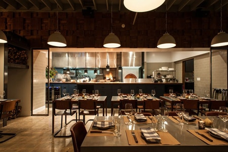 Dining Room at Spartina, Los Angeles, CA