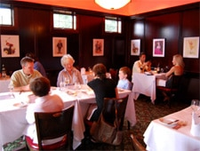 Dining room at Sperry's, Saratoga Springs, NY