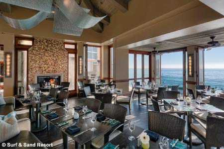 Dining Room at Splashes, Laguna Beach, CA