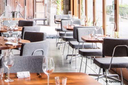 Dining Room at Spoonbar, Healdsburg, CA
