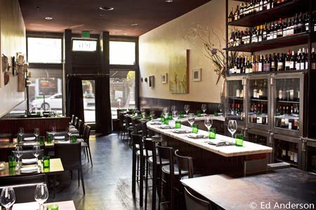 Dining Room at SPQR, San Francisco, CA