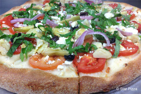 Enjoy a meal with the family at Star Pizza in Houston