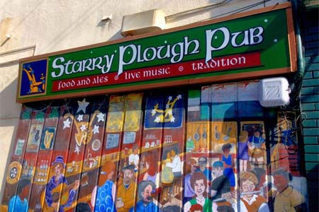 The Starry Plough Pub, Berkeley, CA