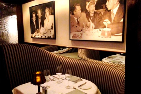 Dining Room at Steakhouse 55, Anaheim, CA