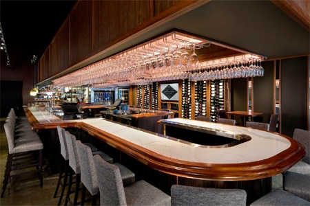 One of the Top 10 Wine Bars in the U.S., Stem Wine Bar's staff knows how to pair wines on the extensive, adventurous list.