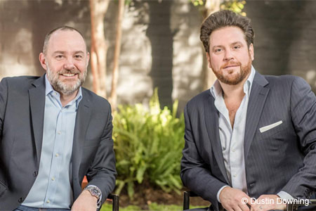Restaurateur Stéphane Bombet and chef Scott Conant opened The Ponte