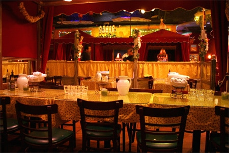 Dining Room at The Stinking Rose, Beverly Hills, CA