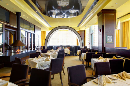 Dining Room at Strega Waterfront, Boston, MA